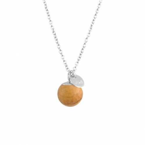 Mas Jewelz necklace Classic Picture Jasper Silver